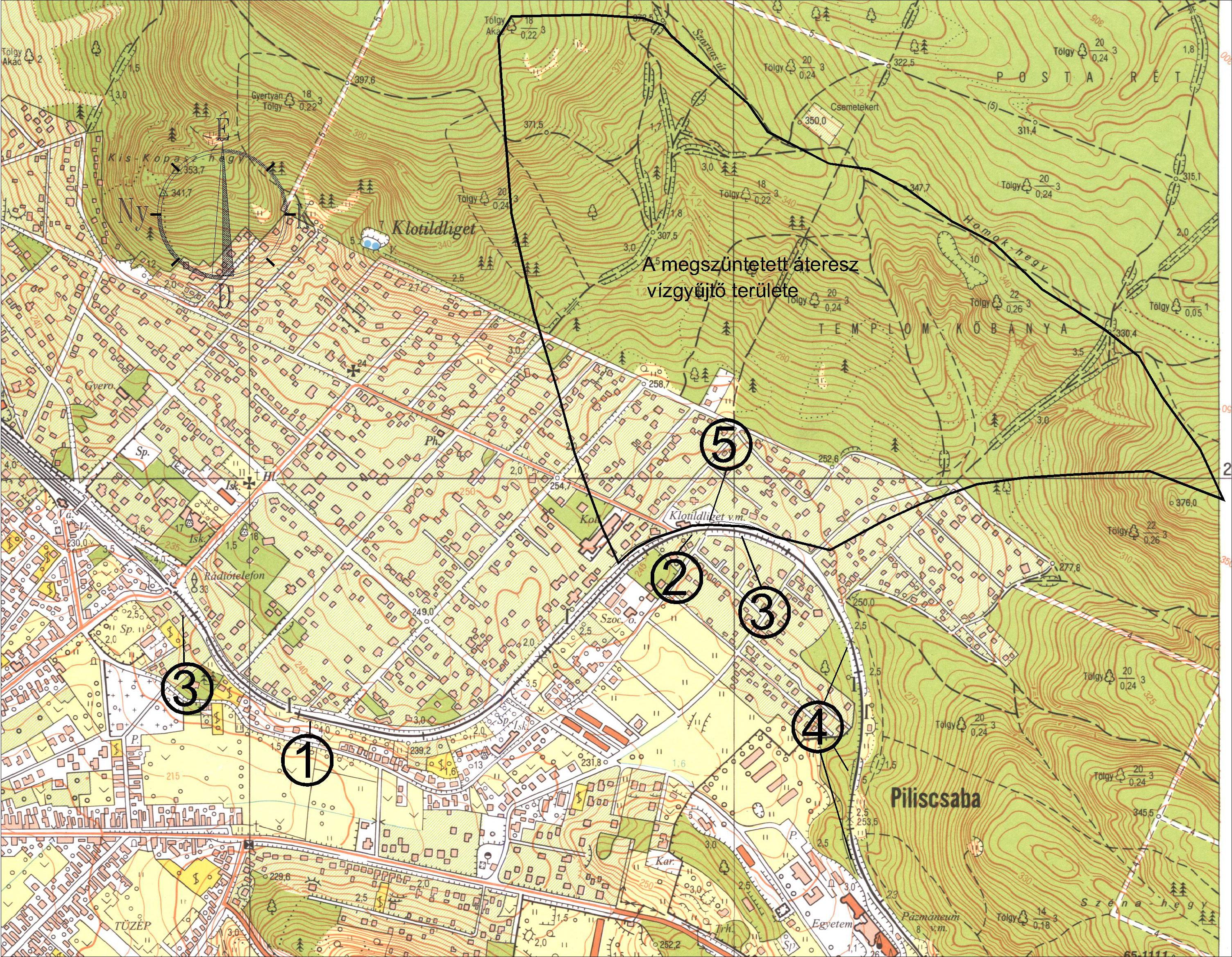 piliscsaba térkép Vasútfejlesztés   Piliscsabai szakasz   vízügyi problémák   CIVILHETES piliscsaba térkép