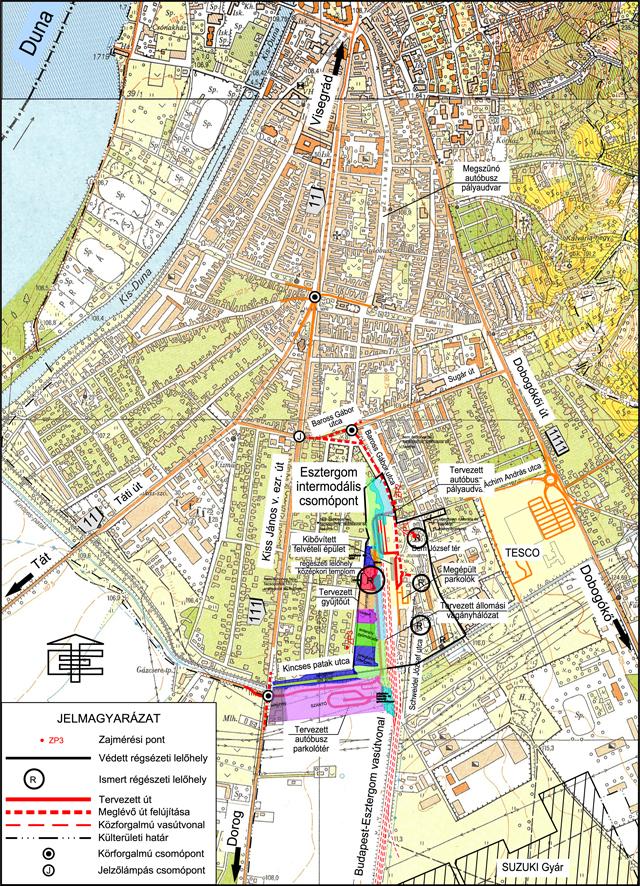 esztergom vasútállomás térkép Szent István templomát is beáldozzák egy vasútállomásért  esztergom vasútállomás térkép