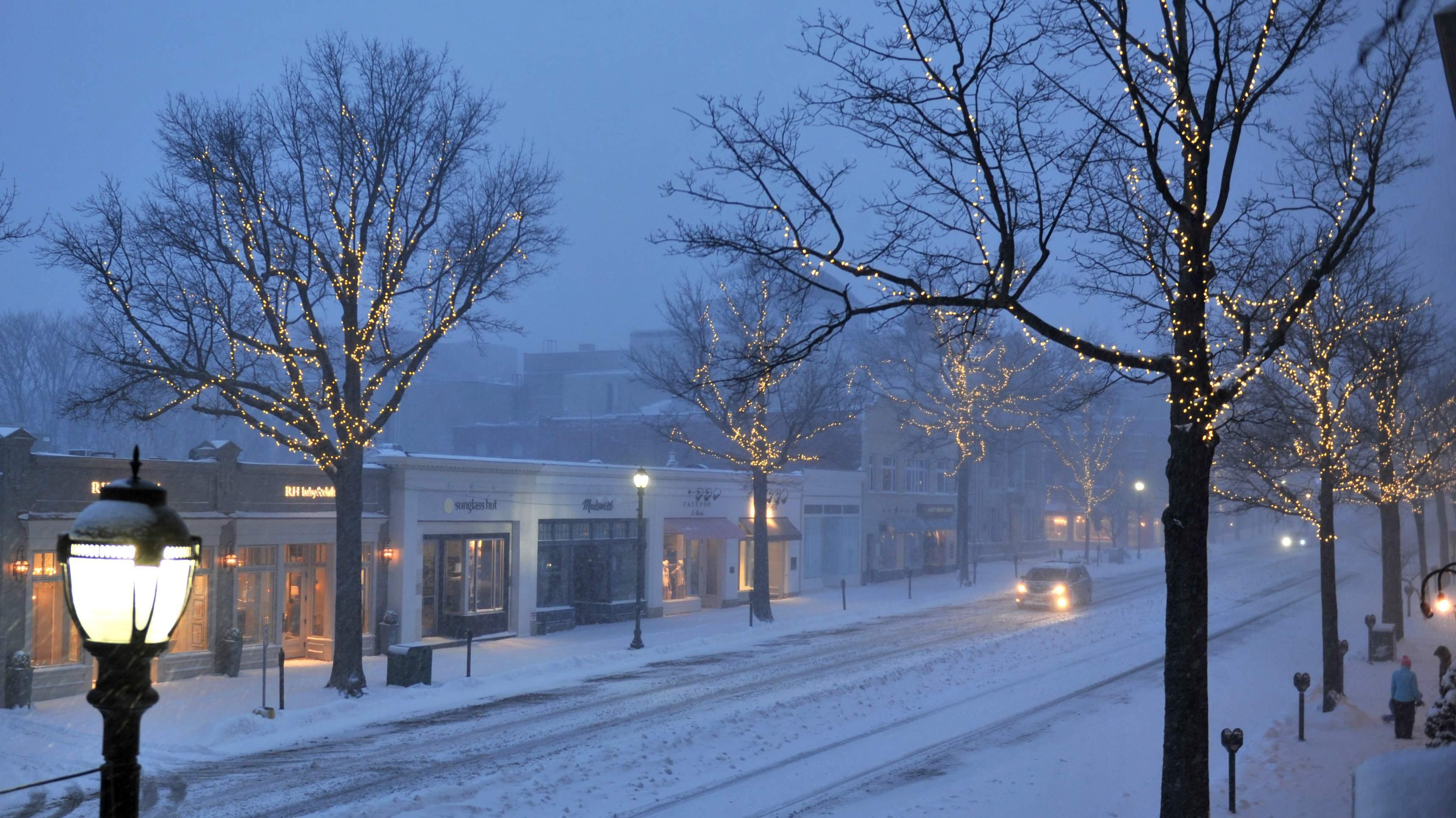 Обои На Стол Зима В Городе